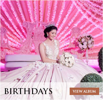 Birthday Albums of Golden Touch by Noel Tanza - Davao City