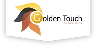 Golden Touch by Noel Tanza Official Logo