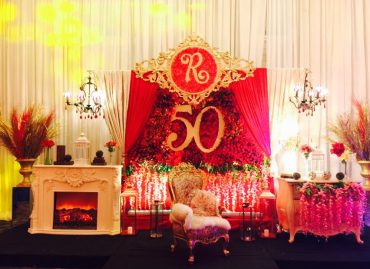 Ruby @ Fab 50 - wedding & event decoration services in Davao City