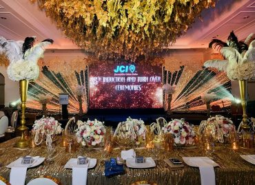 JCI 35TH INDUCTION AND TURN OVER CEREMONIES - wedding & event decoration services in Davao City